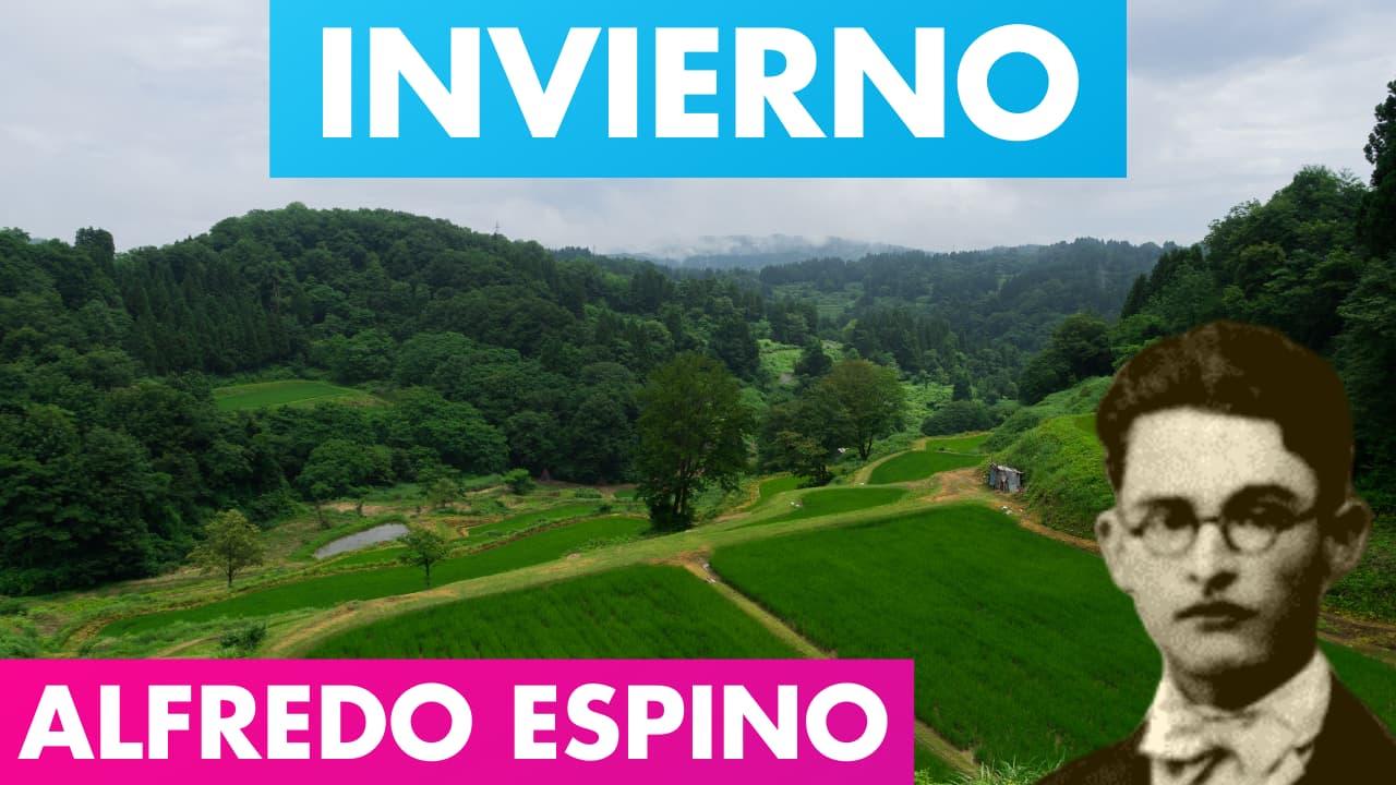En este momento estás viendo INVIERNO ALFREDO ESPINO ⛈️🌹 | Invierno Poema de Alfredo Espino 💜 | Valentina Zoe Poesía