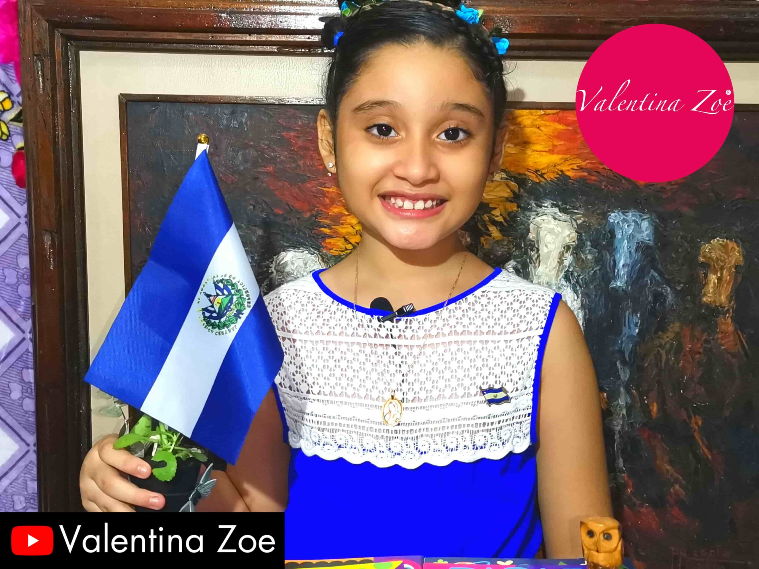 Valentina Zoe Celebración Bicentenario El Salvador